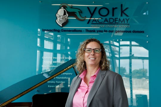 York Academy Upper School chief executive officer Angela Sugarek. August 15, 2019.