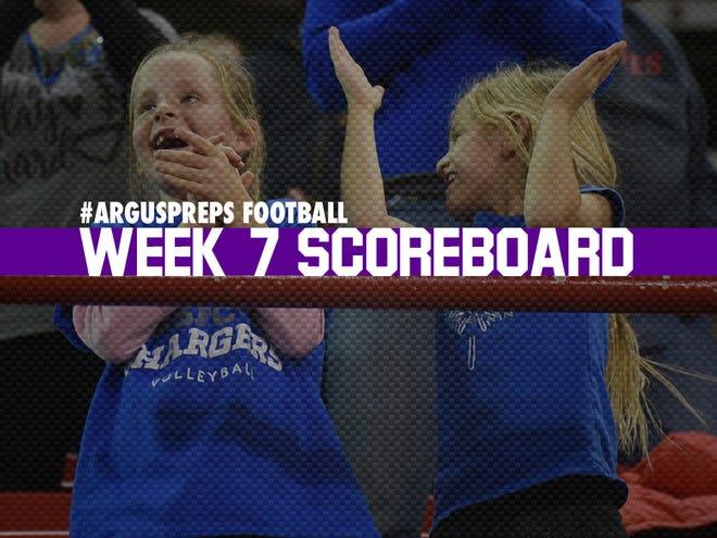 Week 7 scoreboard