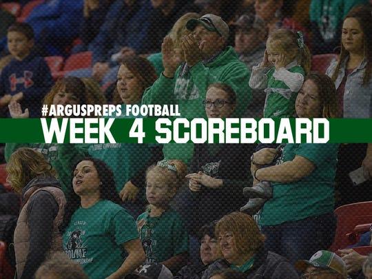 Week 4 scoreboard