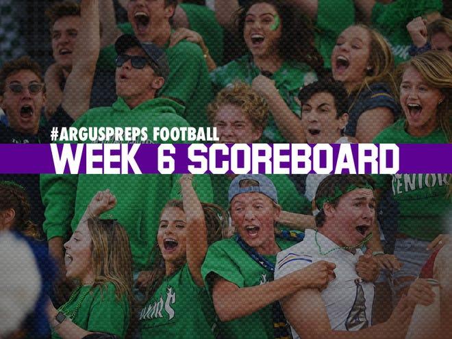 Week 6 scoreboard