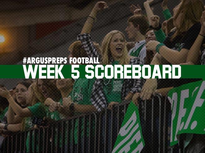 Week 5 scoreboard