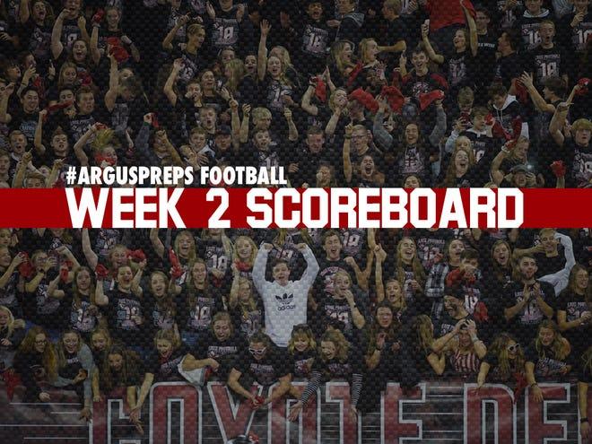 Week 2 scoreboard