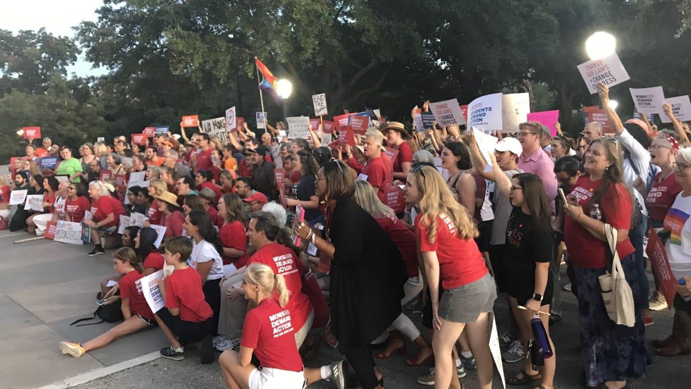 Rally held at Texas Capitol following El Paso shooting