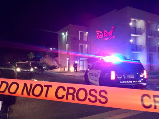 A man is dead after a shooting at the Red Roof Inn on South College Avenue in Newark, police said.
