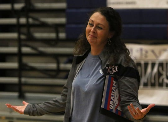 Graham's Marci Faulk was chosen to coach in the Oil Bowl's all-star volleyball matches.