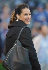 ESPN baseball analyst Jessica Mendoza is thankful she's OK after a car accident last weekend.