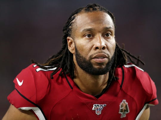 Larry Fitzgerald was excused from Saturday's practice to attend the funeral services of late Steelers WR coach Darryl Drake.