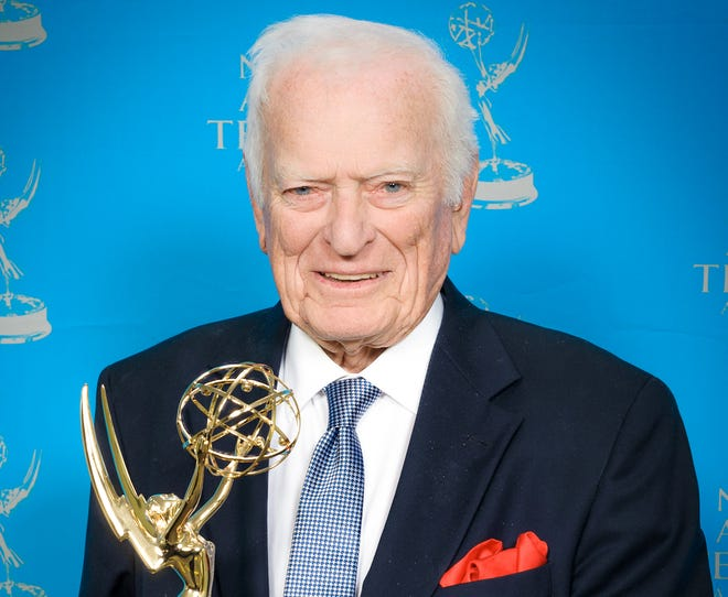 Sportscaster Jack Whitaker received the Lifetime Achievement Award the 33rd annual Sports Emmy Awards in 2012.
