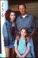 "Clockwise from left: Jessica Biel, Peter Fonda and Vanessa Zima in ""Ulee's Gold."""