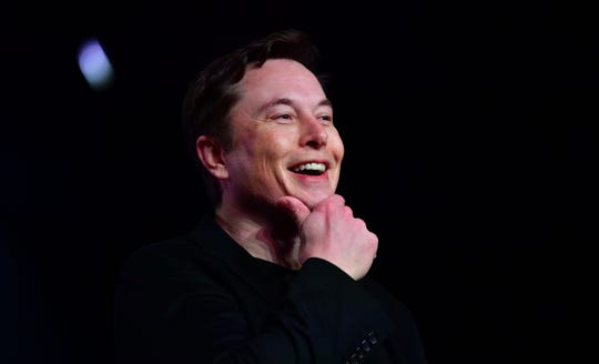 Tesla CEO Elon Musk, seen here in a 2019 file photo, says a full self-driving version of his company's Autopilot system is about to roll out for wider testing