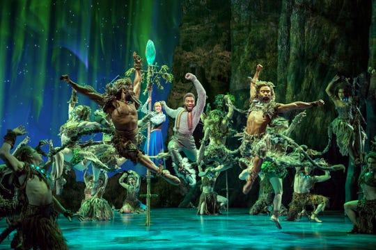 "The original Broadway company of ""Frozen"" perform ""Fixer Upper."""