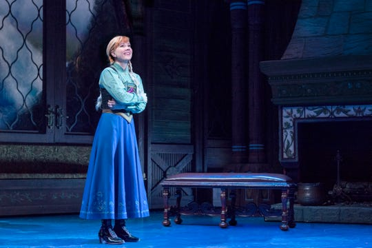 "Patti Murin as Anna in ""Frozen"" on Broadway."
