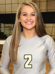 Clyde senior libero Megan Latham was praised for her leadership and defense, earning her Big Country Player of the Week.
