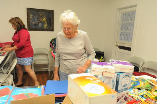 Betty Austin has been volunteering with Hand in Hand of the Swannanoa Valley since the nonprofit began in 2006.