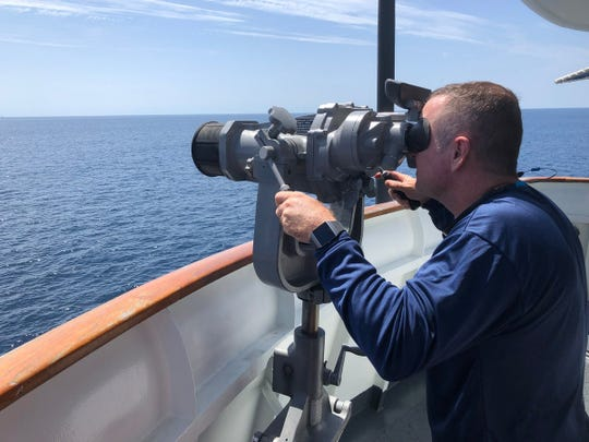 The Coast Guard, along with boaters up and down the coast, continue to search for two missing firefighters who left from Cape Canaveral Friday.