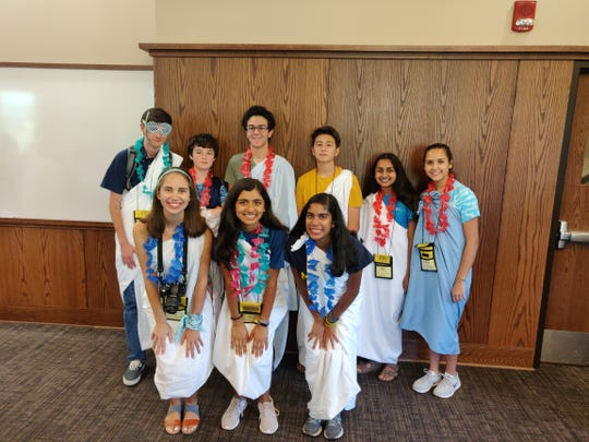 Holy Trinity's award-winning Latin team won national recognition at the 2019 National JCL Convention at North Dakota State University.