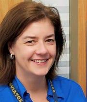 Carolyn Bence, principal of Mireles Elementary School