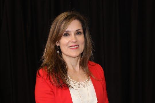 Alexis Soulas, principal of Kaffie Middle School