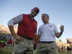 Hawkeyes, Cyclones football ranked one spot apart in preseason AP Top 25