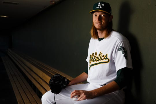A.J. Puk is getting called up by the Oakland Athletics.