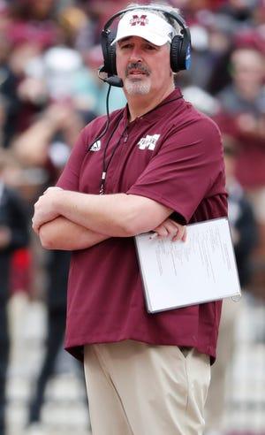 Former Mississippi State coach Joe Moorhead