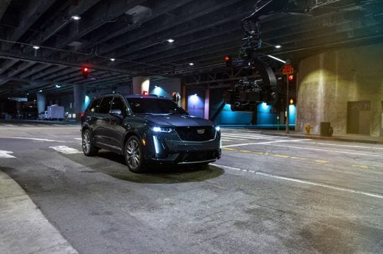 Cadillac S 2020 Xt6 Suv Uses Hollywood For High Action Tv Campaign