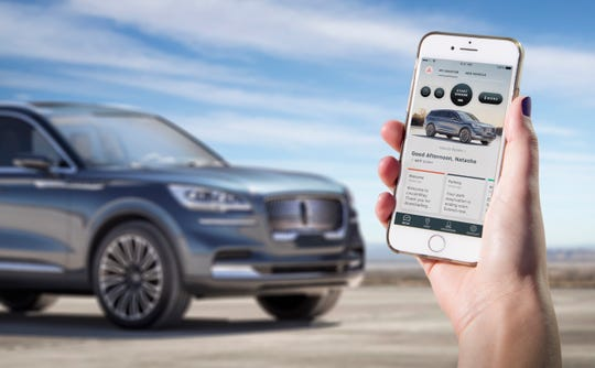 iPhone is all you need to start the 2020 Lincoln Aviator