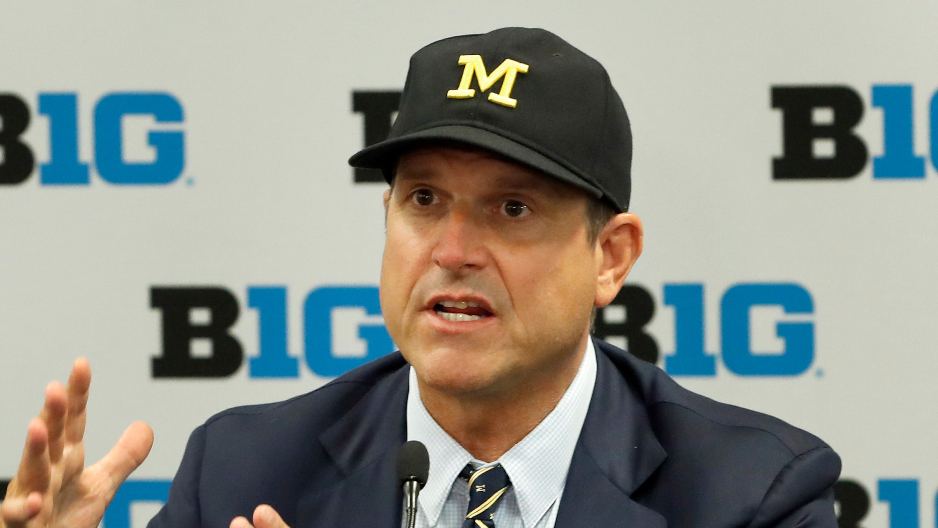 The only Big Ten ranking that puts Jim Harbaugh behind Mike Locksley
