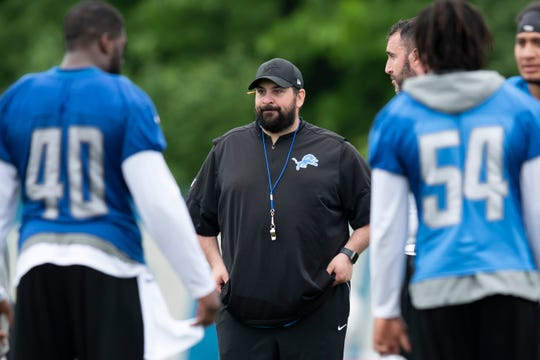 Lions head coach Matt Patricia has two more preseason games to help sort out his roster.