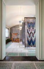 """""""Studio Loja Saarinen"""" is displayed in what once was Eliel Saarinen's presentation studio in Cranbrook's Saarinen House."""