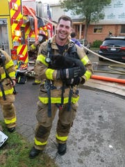 Troy firefighters rescued a cat from an early Monday morning blaze at a condominium.