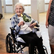 Penny Milliser recognized for her KOPS anniversary.