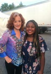 Little Kids Rock participant Julia Kirkwood performed as a special guest ahead of GRAMMY-winning headliner Bonnie Raitt.