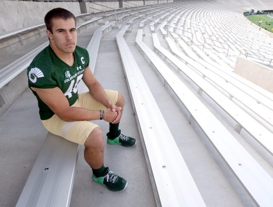 CSU football fullback Adam Prentice has announced he'll transfer to South Carolina.