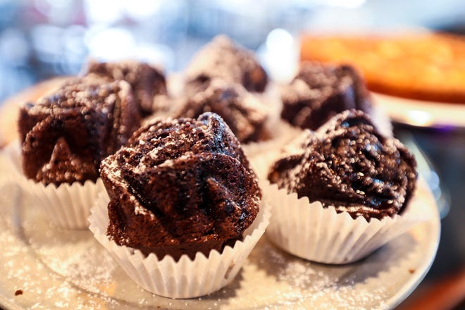 Chocolate cup cakes. Off the Eaten Path feature on Colleoni's in south Fort Myers. An Italian Eatery and Bakery that is open for dinner.