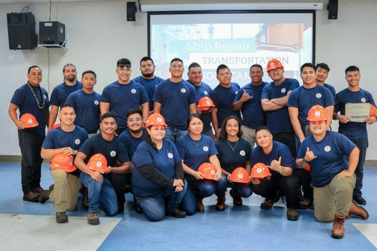 """During the boot camp, participants were trained in plumbing, welding and painting/blasting. In addition to their training in various trades, they obtained certification in CPR, Basic First Aid, OSHA-10 and National Career Readiness Certification. They also are the first group to receive Work Ethic Certification from the """"Center for Work Ethic Development"""" the newest certification course offered by GCC to help employees work on their soft skills."""