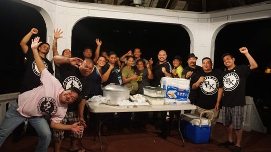 Domino Lux International, a group of businessmen and professionals spent quality time with a sponsored dinner on Aug. 16. at the Plaza De Ezpana in Hagåtña with some members in the homeless community. The DLX Quest for Humanity program has been engaging periodically island wide.