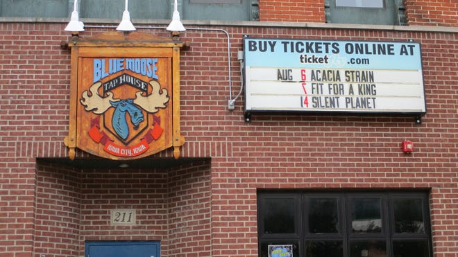 Blue Moose Tap House on Aug. 19, 2019, roughly a month before the music venue/bar closes.