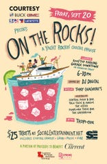 On The Rocks!: A Yacht Rockin' Cocktail Cruise will be held Sept. 20 and part of the proceeds will benefit The Current, Lafayette's only nonprofit newspaper
