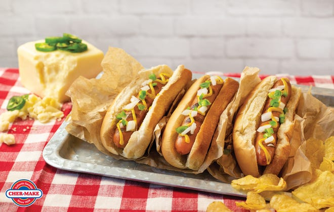 Cher-Make Sausage's Jalapeño White Cheddar Natural Casing Uncured Wieners