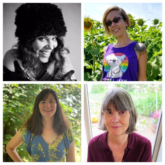 Clockwise, from top left: Molly Snyder, AJ Wolff, Peggy Turnbull and Emilie Lindemann.