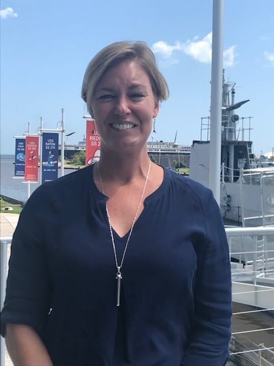 Cathy Green, executive director of the Wisconsin Maritime Museum in Manitowoc