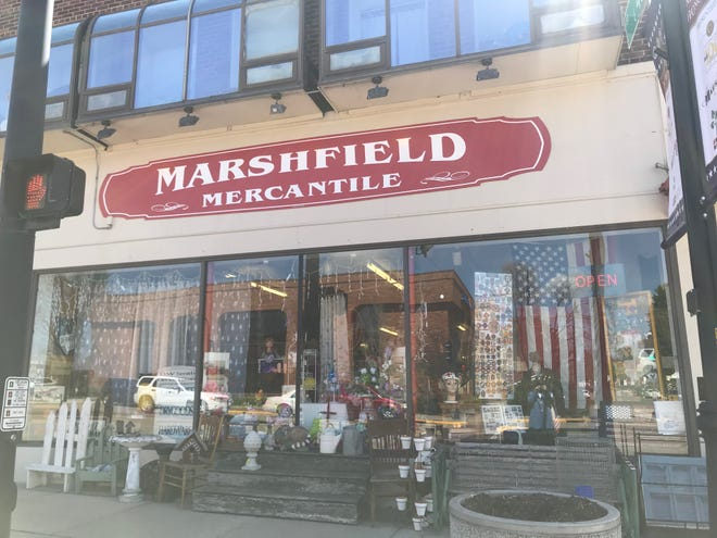 Marshfield Mercantile at 355 S. Central Ave. in May 2019. The business is facing an eviction hearing on Sept. 17, 2019.