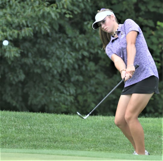 Lexington's Amanda Ruminski carded a 72, good for second best score of the Lexington Girls Golf Invite on Monday as she led the Lady Lex to a runner-up team finish.