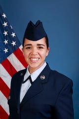 U.S. Air Force Air National Guard Airman 1st Class Julia L. Ganz