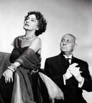 """Gloria Swanson and Erich Von Stroheim star in """"Sunset Boulevard.'"""