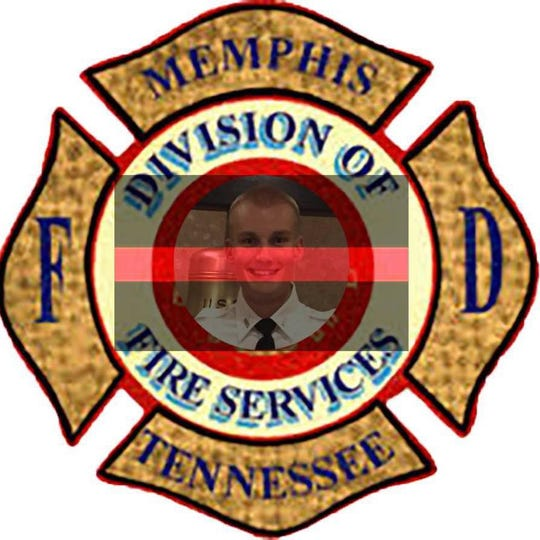 Memphis Fire Department's Facebook profile picture after the death of Grant Langer.