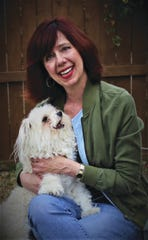 """Where the Lost Dogs Go: A Story of Love, search, and the Power of Reunion"" author Susannah Charleson."