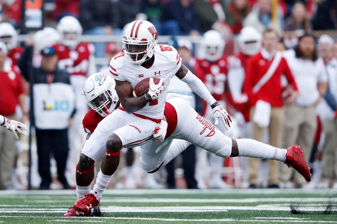 Wide receiver Quintez Cephus hasn't played for the Badgers since UW faced Indiana on Nov. 4, 2017.