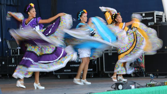 Sonidas y Movimientos de México, from Jalisco, is among the performance groups returning to Milwaukee's Mexican Fiesta this weekend.